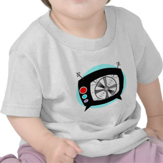 Retro TV and Test Pattern Tees
