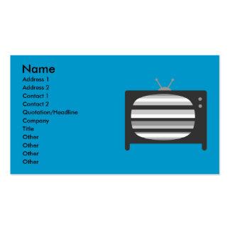 Retro TV Business Cards