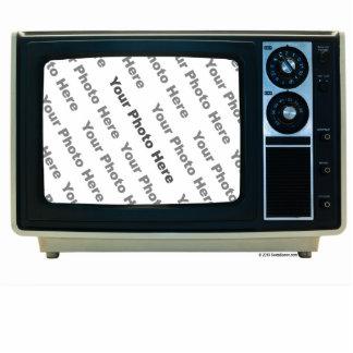 Retro TV Custom Frame Cutout