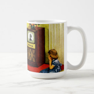 Retro TV Family Drinking Mug