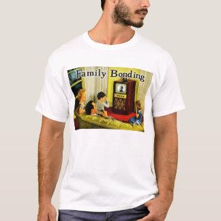 Retro TV Family T-Shirt (Family Bonding)