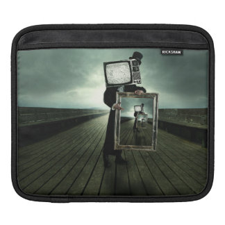 Retro tv men iPad sleeve