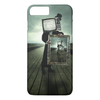 Retro tv men iPhone 7 plus case