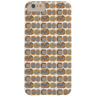 Retro Tv pattern Barely There iPhone 6 Plus Case