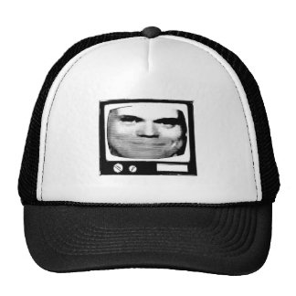 retro tv propaganda mesh hats