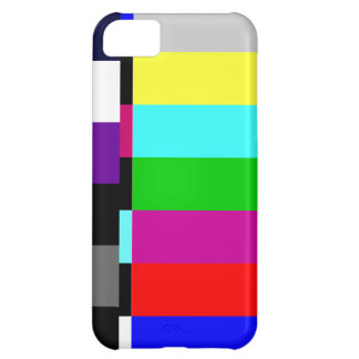 Retro TV Screen Test iPhone 5 Case
