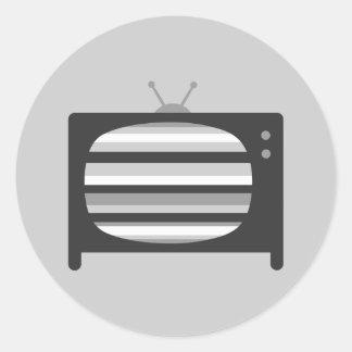 Retro TV Stickers