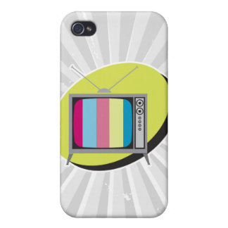 retro tv television covers for iPhone 4