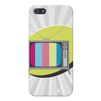 retro tv television iPhone SE/5/5s cover