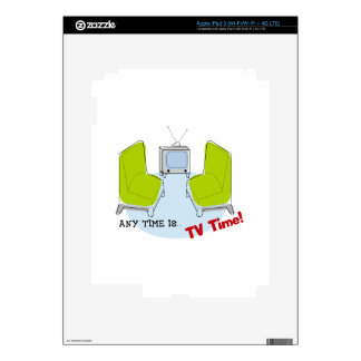 Retro TV Time! Design. Skins For iPad 3