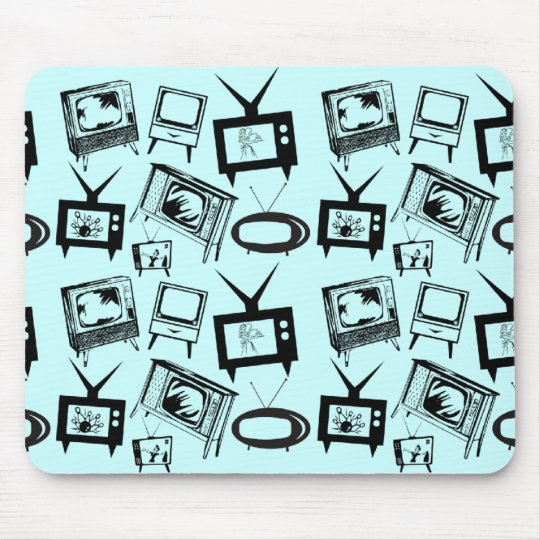 Retro TVs Mouse Pad