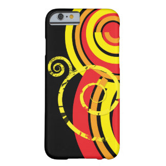 Retro Twirl Barely There iPhone 6 Case