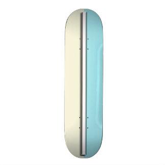 Retro Two Tone Custom Car Skateboard Deck