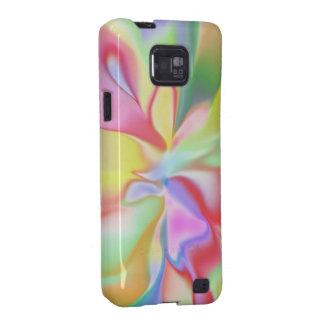 Retro Tye Dye Print Samsung Galaxy S2 Barely There Samsung Galaxy S2 Case