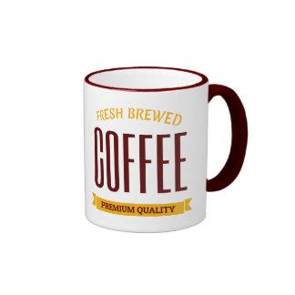 Retro Typographic Design Coffee Mug