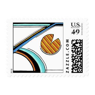 Retro | U.S. Postage | Customizable