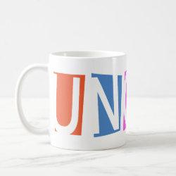 Classic White Mug with Retro Uncle design