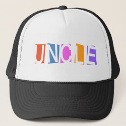 Trucker Hat with Retro Uncle design
