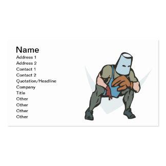 Retro Uniform Business Card