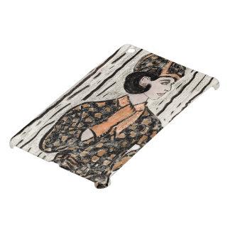 Retro Uptown Girl II iPad Mini Cover