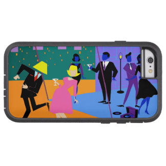 Retro Urban Rooftop Party iPhone 6 Case