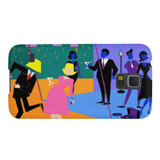 Retro Urban Rooftop Party Samsung Galaxy S5 Case