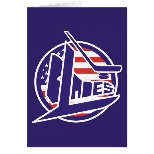 Retro USA Blades Hockey Card