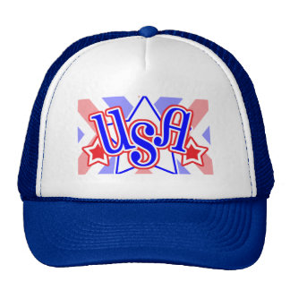 Retro USA Trucker Hat