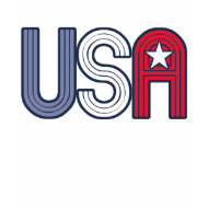 Retro USA With Star Patriotic shirt
