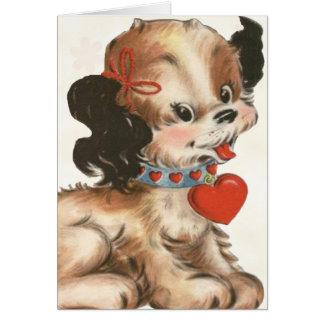 Retro Valentine Card for Kids