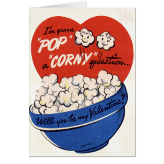 Retro Valentine Card for Kids