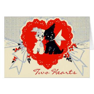 Retro Valentine's Day Card