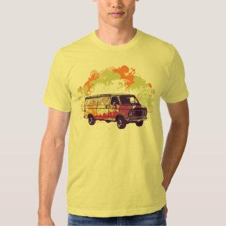 Retro van graphic design men's t-shirt