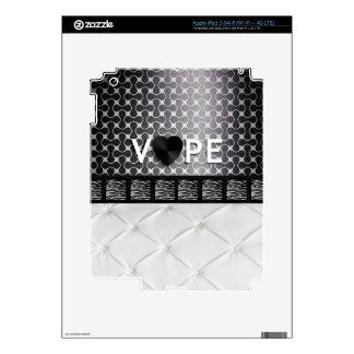 Retro Vape Zebra Elegent Decal For iPad 3