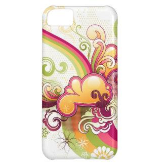 Retro Vector Art iPhone Case iPhone 5C Case