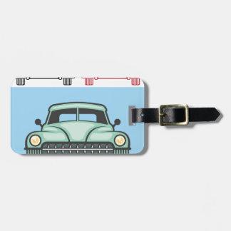 Retro Vehicle Front Luggage Tag