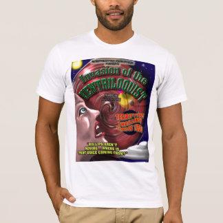 Retro Ventriloquist Sifi Movie Poster T-Shirt