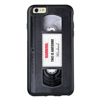 Retro VHS Cassette Tape Funny Old Fashioned OtterBox iPhone 6/6s Plus Case