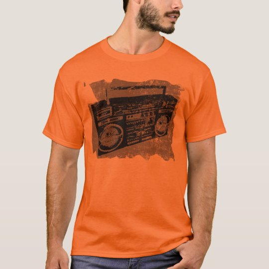 RETRO VIBE 80'S 90'S BOOM BOX T-Shirt
