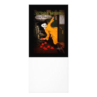 Retro Victoria Arduino Coffee Ad Rack Card