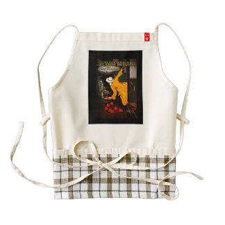 Retro Victoria Arduino Coffee Ad Zazzle HEART Apron