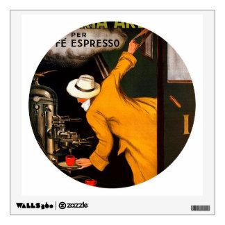 Retro Victoria-Arduino coffee Wall Sticker
