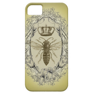 retro Victorian Bee Queen crown Fashion iphone5 iPhone SE/5/5s Case