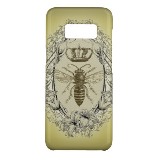 retro Victorian Bee Queen crown Fashion iPhone 6 c Case-Mate Samsung Galaxy S8 Case