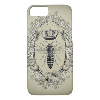 retro Victorian Bee Queen crown Fashion iPhone 7 c iPhone 7 Case