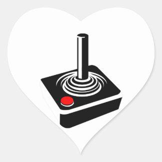 Retro Video Game Joystick Stickers