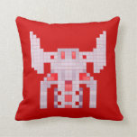 retro video games throw pillows