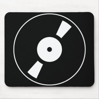 retro vinly record mouse pads