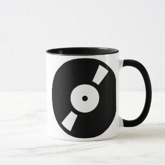retro vinly record, retro vinly record mug