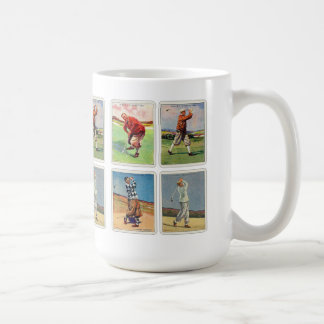 Retro Vintage 20s Golfing Cigarette Will's Cards Coffee Mug